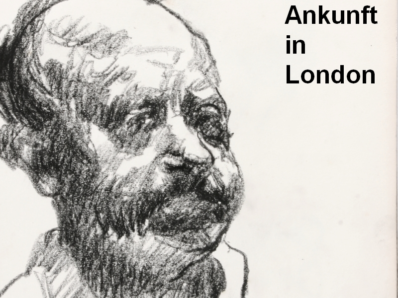 Ankunft in London
