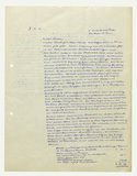 Letter: Josef Albers to Ludwig Grote, probably 1951