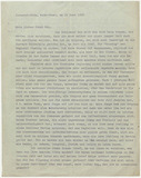 Letter: Martin Wagner to Ernst May 1938