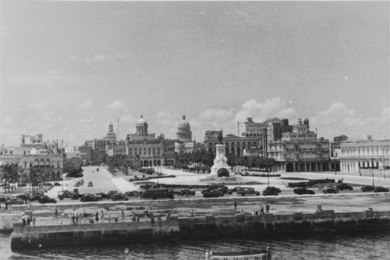 Photograph: view of Havana
