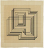 Zeichnung: Josef Albers, Concentric Squares