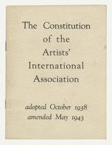 Satzung: Artists' International Association