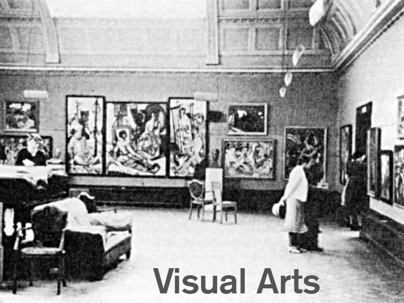 Photograph: exhibition in London in 1938