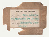 Label: Ben Uri Art Gallery, Wandering Jew