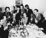 Photograph: Albert Bassermann's birthday party
