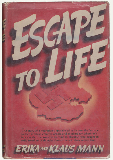 Dust jacket: Escape to Life