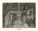 Etching by Helga Michie: Concord
