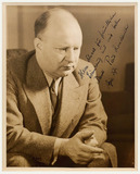Photograph: Eric Schaal of Paul Hindemith