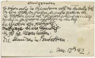 Arts In Exile Objects Gustav Wolf Emigranten A Poem