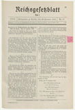 Reich Law Gazette from 28 February 1933