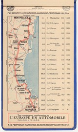 Route map of the 10,000 km journey