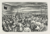 Ludwig Meidner, Gas Chamber, 1942-45
