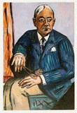 Painting: Max Beckmann, Portrait of Ludwig Berger