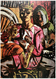 Painting: Max Beckmann, The King
