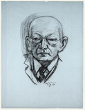 Drawing: Max Beckmann, Georg Swarzenski